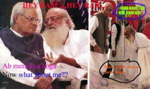 then advani said abhi to main ho jab Hum hai to kya gun hai